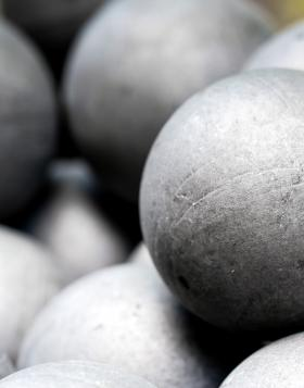 grinding ball steel forged ecomax