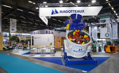 Intermat Magotteaux booth